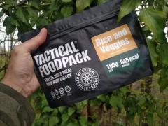 Okusen in zdrav Tactical Foodpack obrok 'Riž z zelenjavo' za vse 'outdoor' aktivnosti