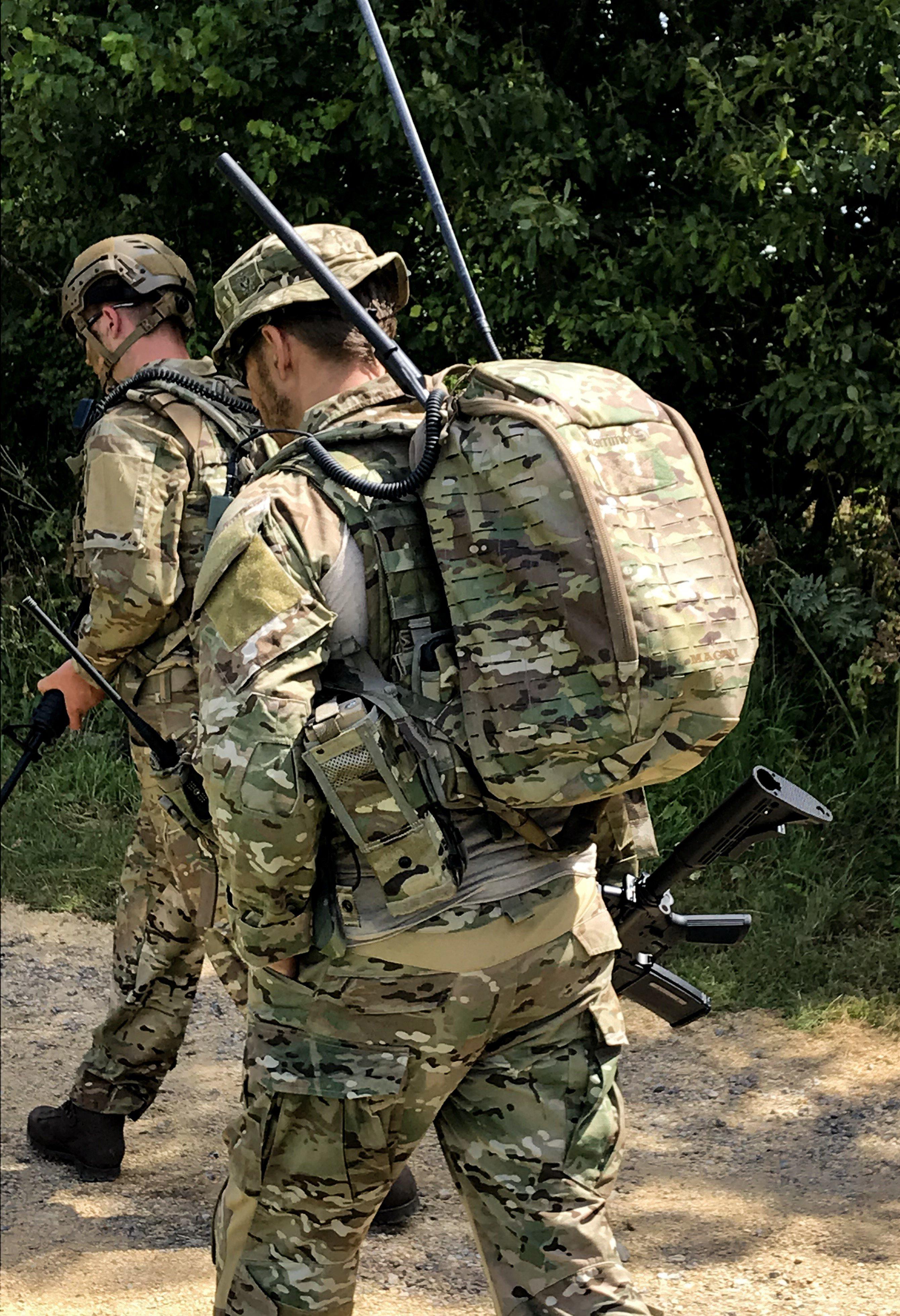 Majhni vojaški nahrbtniki do 25 litrov