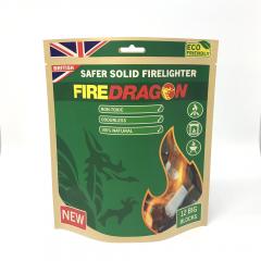 Vojaške all-weather bio gorilne tablete FireDragon iz etanola, pakiranje 18 kosov (NATO approved NSN: 9110-99-505-2835), BCB International, B33 army shop, trgovina z vojaško opremo, vojaška trgovina