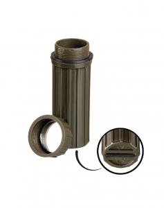 US vojaška vodotesna škatlica za shranjevanje vžigalic in ostalih drobnarij olivne barve