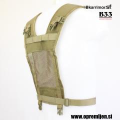 Vojaški nosilni YOKE sistem KARRIMOR SF coyote barva, B33 army shop, trgovina z vojaško opremo, vojaška trgovina