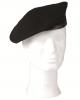Vojaška baretka iz 100% volne črne barve MILTEC by B33 army shop at www.opremljen.si (vojaška trgovina, trgovina z vojaško opremo)