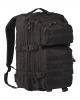 Taktični vojaški nahrbtnik US ASSAULT large volumen 36 litrov črne barve, MILTEC, B33 army shop at www.opremljen.si trgovina z vojaško opremo, vojaška trgovina