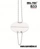 B33 army shop - Nemška vojaška identifikacijska ploščica (dog tag) MIL-TEC, MILTEC opremite se na www.opremljen.si (trgovina z vojaško opremo, vojaška trgovina)