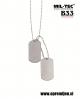 B33 army shop - US originalna vojaška identifikacijska ploščica (dog tag) MILTEC, MIL-TEC opremite se na www.opremljen.si (trgovina z vojaško opremo, vojaška trgovina)
