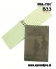 MIL TEC US vojaški vodoodporen blok za pisanje v dežji MINI kapacitete 75 x 130 mm by B33 army shop at www.opremljen.si