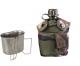 Vojaška US čutara kapacitete 1 liter, s termo zaščito olivne barve ter aluminjastim lončkom za kuhanje by MIL-TEC B33 army shop www.opremljen.si