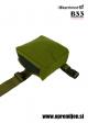 Vojaška odlagalna torbica stegenska DROP LEG DUMP POUCH KARRIMOR SF olivna barva