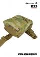 Vojaška odlagalna torbica stegenska DROP LEG DUMP POUCH KARRIMOR SF