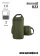 DRY BAG 10 Karrimor SF - vojaška nepremočljiva vreča (10 litrov) par (2 kosa) za stranski torbi nahrbtnikov olivna barva