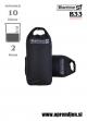 DRY BAG 10 Karrimor SF - vojaška nepremočljiva vreča (10 litrov) par (2 kosa) za stranski torbi nahrbtnikov črna barva