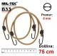 Vojaška MIL-TEC elastična vrv z jeklenimi kavli by B33 army shop at www.opremljen.si
