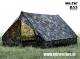 MIL-TEC vojaški šotor za dve odrasli osebi 'MINI PACK SUPER' woodland vzorec by B33 army shop at www.opremljen.si