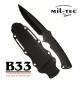 MILTECVeliki buscraft ranger nož s priloženim tokom prilagojenim za paracord vrvico by B33 army shop at www.opremljen.si