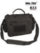 Mil-tec vojaška taktična torba za prenosnik s parakord ročajem črne barve verzija large by B33 army shop at www.opremljen.si
