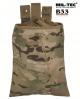 Vojaška torbica za odlaganje praznih magazinov/nabojnikov (drop pouch) multicamo by B33 army shop at www.opremljen.si