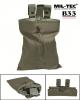 Vojaška torbica za odlaganje praznih magazinov/nabojnikov (drop pouch) olivne barve by B33 army shop at www.opremljen.si