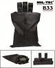 Vojaška torbica za odlaganje praznih magazinov/nabojnikov (drop pouch) črne barve by B33 army shop at www.opremljen.si