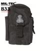 Vojaška MOLLE komando torbica črna barva by B33 army shop at www.opremljen.si