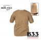 Tactical T-shirt coyote barva by B33 army shop at www.opremljen.si