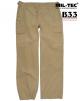 Vojaške ženske bojne hlače ripstop prewash US BDU (Battle Dress Uniform) KHAKI barva