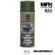 Vojaška barva sprej zelena NVA GREEN RAL6003 400ml MFH - Max Fuchs by B33 army shop at www.opremljen.si