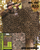 Profesionalna vojaška maskirna mreža 3x3 metre woodland, by B33 army shop at www.opremljen.si, trgovina z vojaško opremo, vojaška trgovina