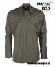 Vojaška srajca iz ripstop tkanine olivna barva MILTEC by B33 army shop www.opremljen.si, trgovina z vojaško opremo, vojaška trgovina