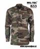 B33 army shop - vojaška srajca ripstop woodland MILTEC, trgovina za vojaško opremo, vojaška trgovina