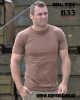 Vojaška T-shirt kratka majica US STYLE barva BDU RJAVA by B33 army shop at www.opremljen.si