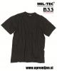 Vojaška majica US Army T-shirt črne barve