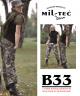Vojaške bojne ženske hlače ripstop prewash woodland BDU by B33 army shop www.opremljen.si