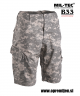 US vojaške bermuda hlače ripstop ACU (Army Combat Uniform) maskirni vzorec AT DIGITAL