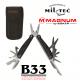 BÖKER® MAGNUM MAXIGRIP - Vojaške večnamenske kombinirane klešče z rezili za žico ter s torbico za pas B33 army shop www.opremljen.si