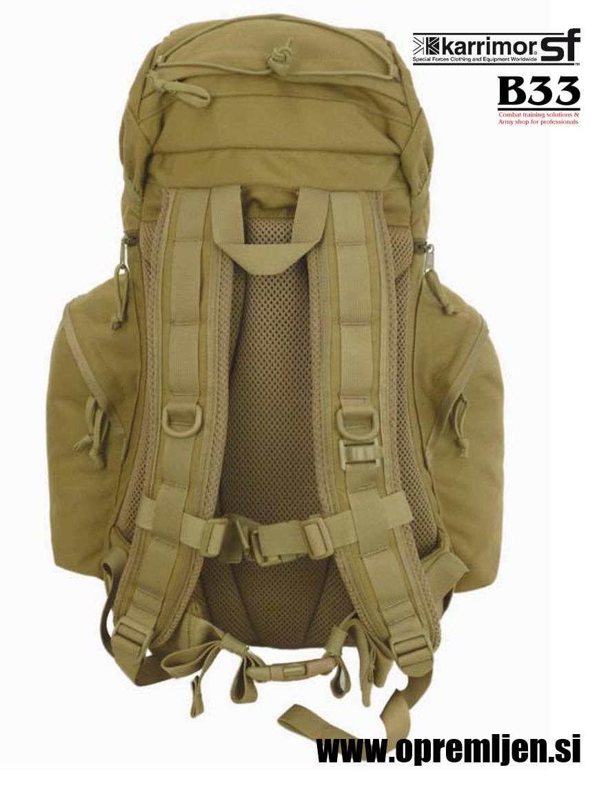 Vojaški nahrbtnik SABRE 35 KARRIMOR SF, B33 army shop at www.opremljen.si, trgovina z vojaško opremo, vojaška trgovina