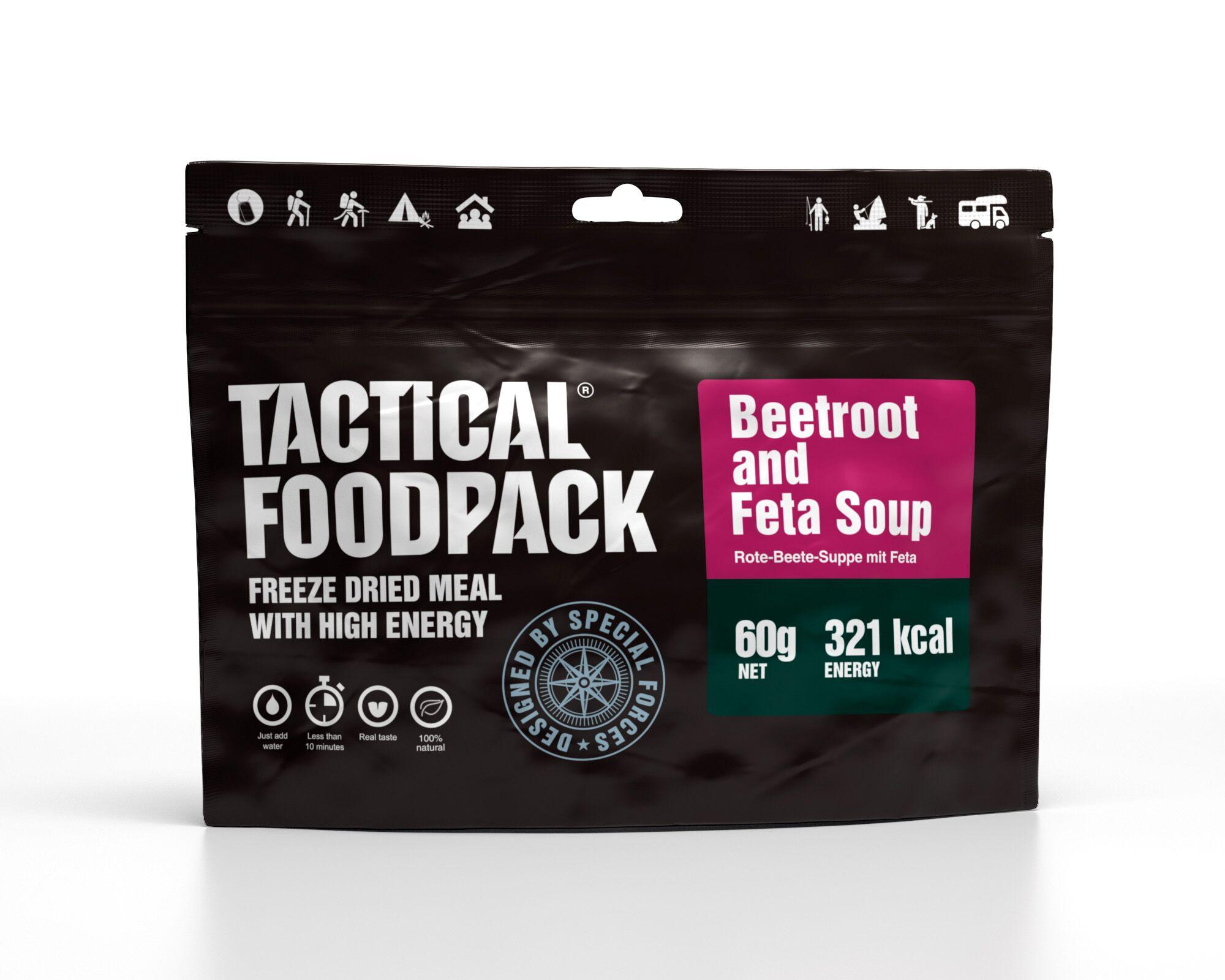 Dehidrirana hrana Tactical Foodpack - Beetroot and Feta Soup , B33 army shop at www.opremljen.si, trgovina z vojaško opremo, vojaška trgovina