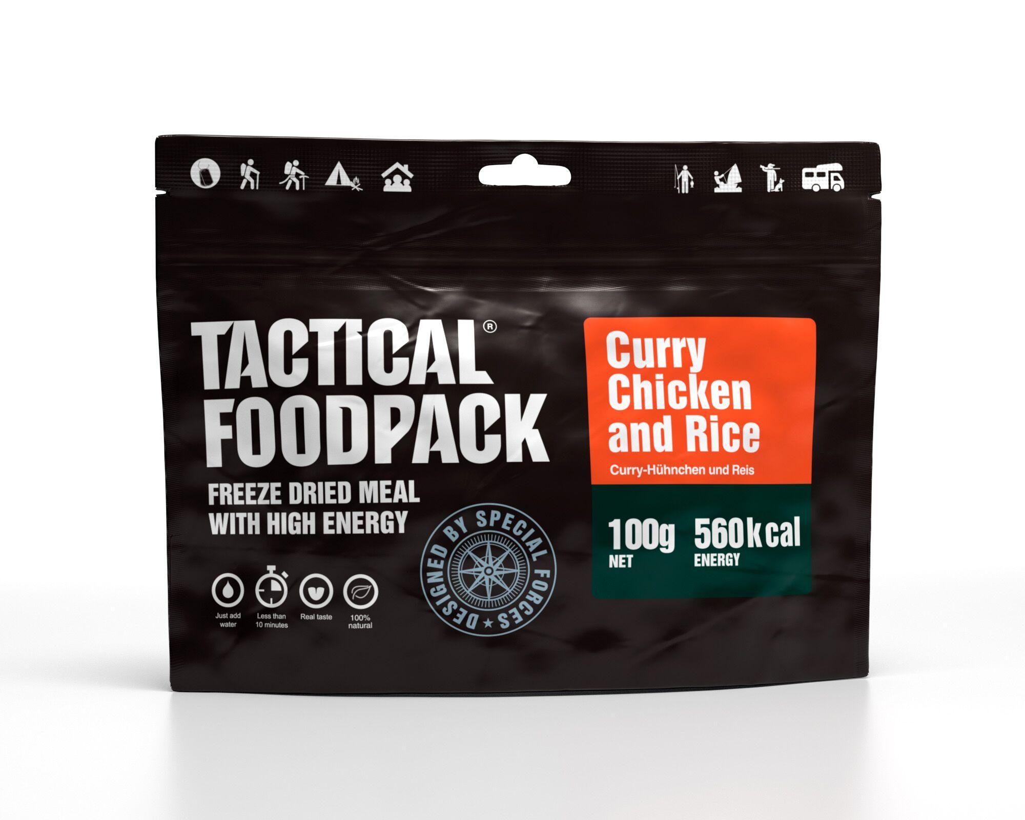 Dehidrirana hrana Tactical Foodpack - Curry Chicken and Rice , B33 army shop at www.opremljen.si, trgovina z vojaško opremo, vojaška trgovina
