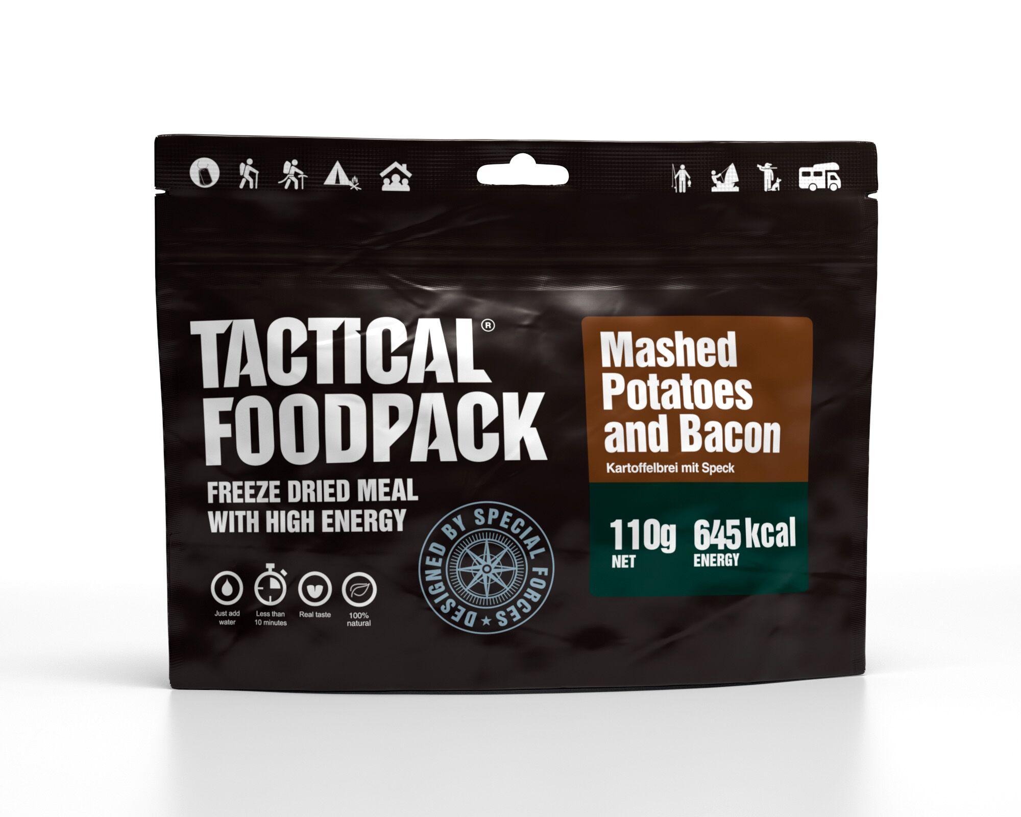 Dehidrirana hrana Tactical Foodpack - Mashed Potatoes and Bacon , B33 army shop at www.opremljen.si, trgovina z vojaško opremo, vojaška trgovina