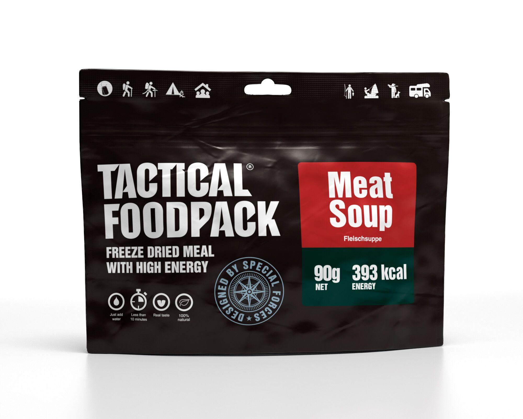 Dehidrirana hrana Tactical Foodpack - Meat Soup , B33 army shop at www.opremljen.si, trgovina z vojaško opremo, vojaška trgovina