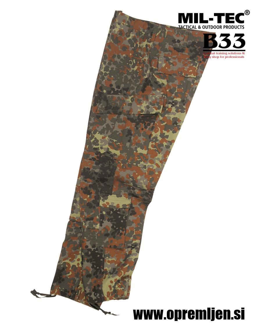 B33 army shop - vojaške hlače ACU (Army Combat Uniform) ripstop tkanina, flecktarn maskirni vzorec, maskirne hlače, kamuflažne hlače, MILTEC, MIL-TEC, trgovina z vojaško opremo, vojaška trgovina