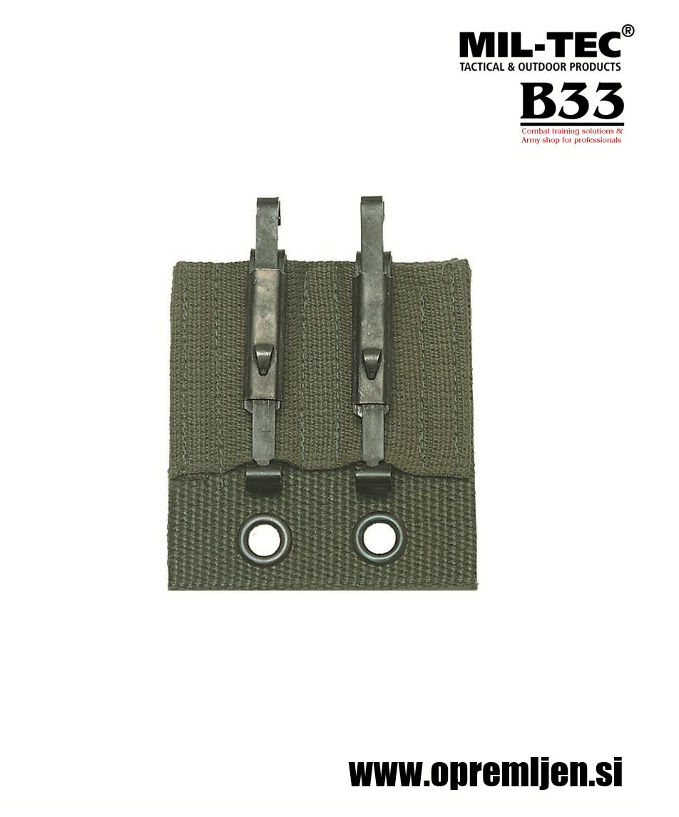 B33 army shop - ALICE kovinski drsniki za nameščanje opreme na ALICE opasač MILTEC by B33 army shop at www.opremljen.si, trgoivna z vojaško opremo, vojaška trgovina