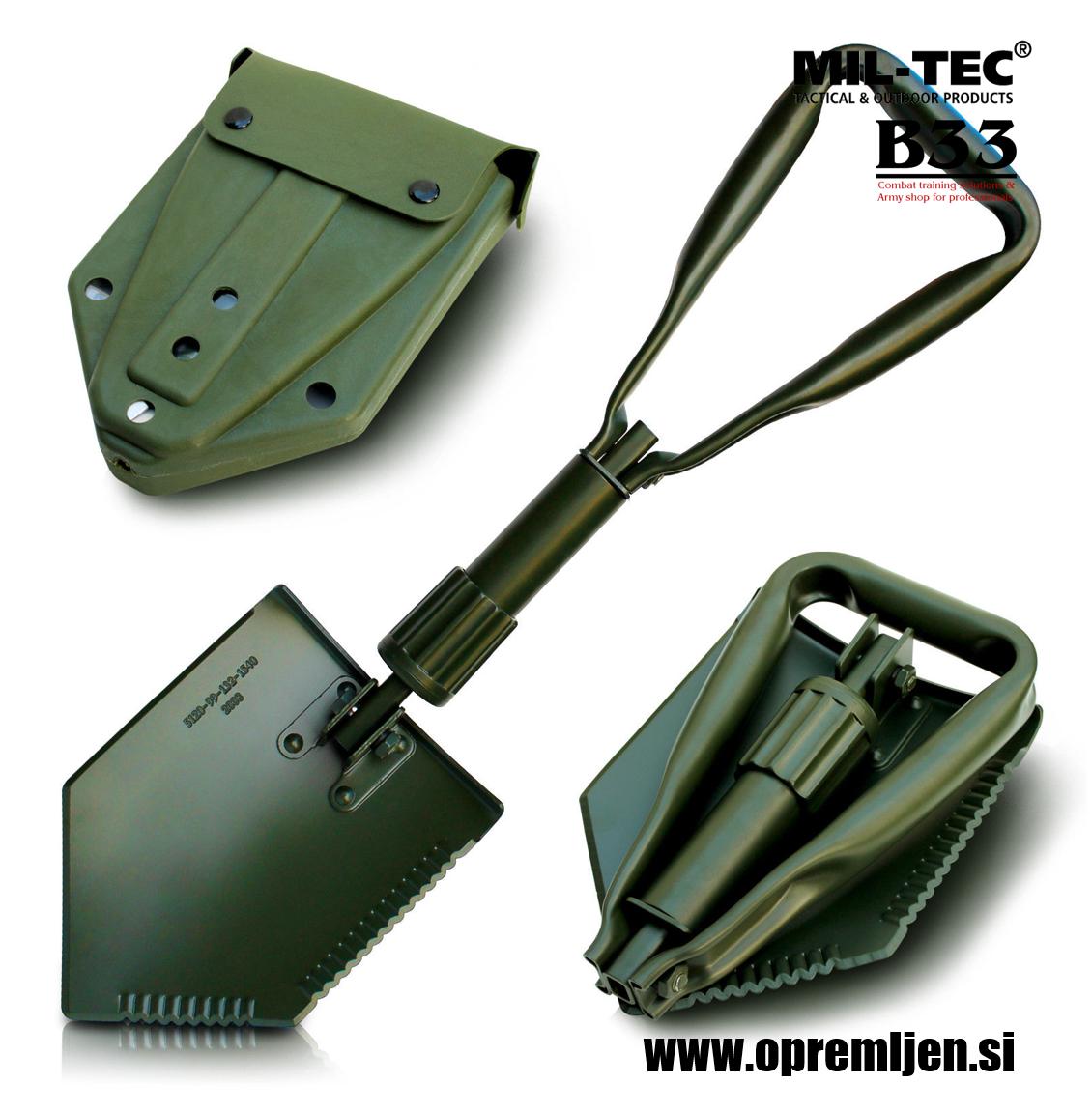 B33 army shop - ALICE vojaška torbica z vojaško zložljivo lopato MILTEC by B33 army shop at www.opremljen.si, trgovina z vojaško opremo, vojaška trgovina