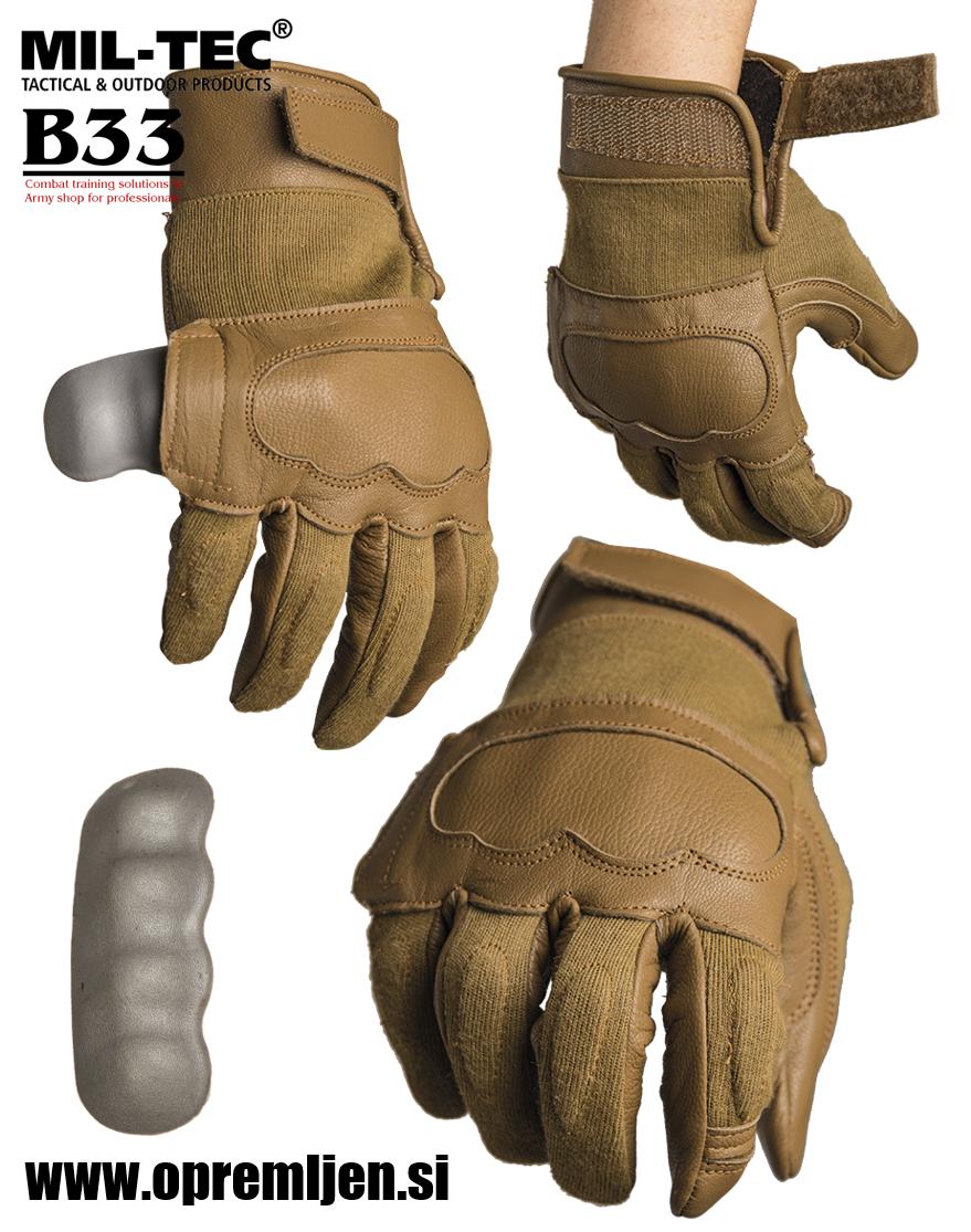 Vojaške taktične aramid rokavice odporne na reze in pike igel by B33 army shop at www.opremljen.si