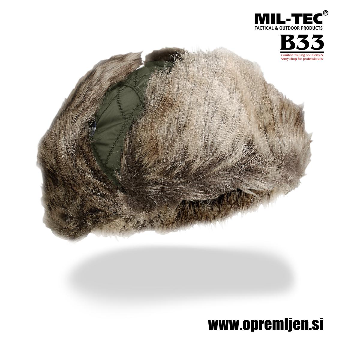 B33 army shop - vojaška kučma olivna barva, MILTEC, MIL-TEC by B33 army shop at www.opremljen.si, trgovina z vojaško opremo, vojaška trgovina