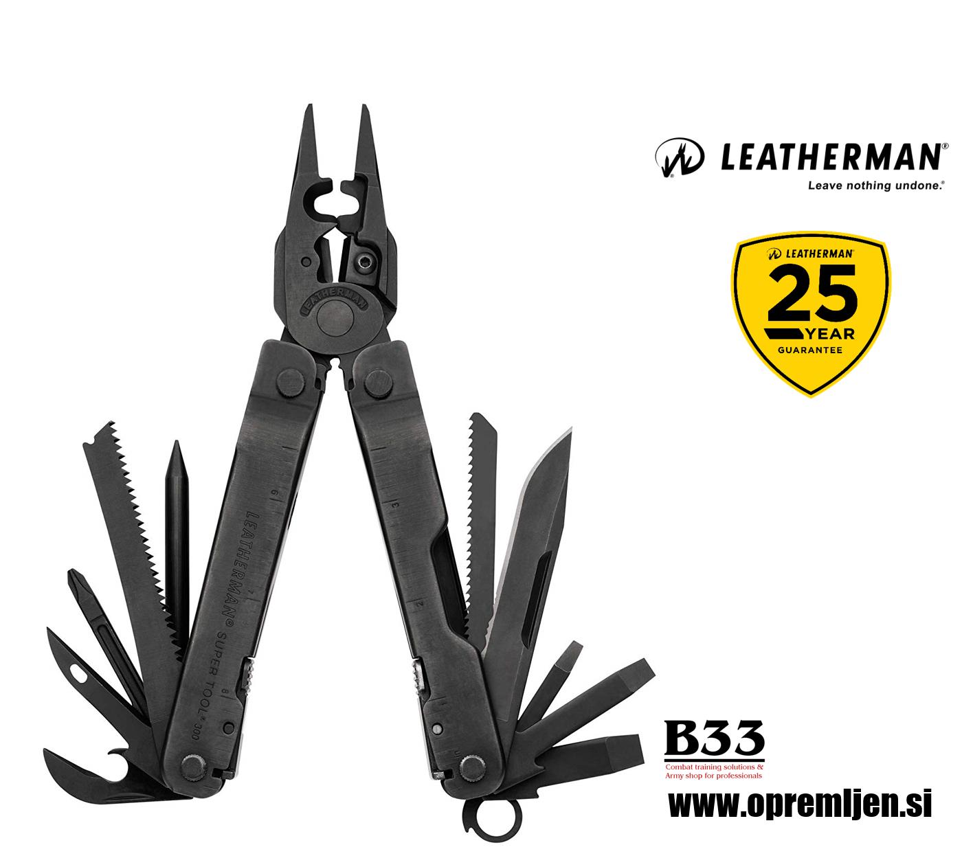 B33 army shop - Leatherman – Super Tool 300 EOD – večnamensko vojaško orodje, by B33 army shop at www.opremljen.si, trgovina z vojaško opremo, vojaška trgovina