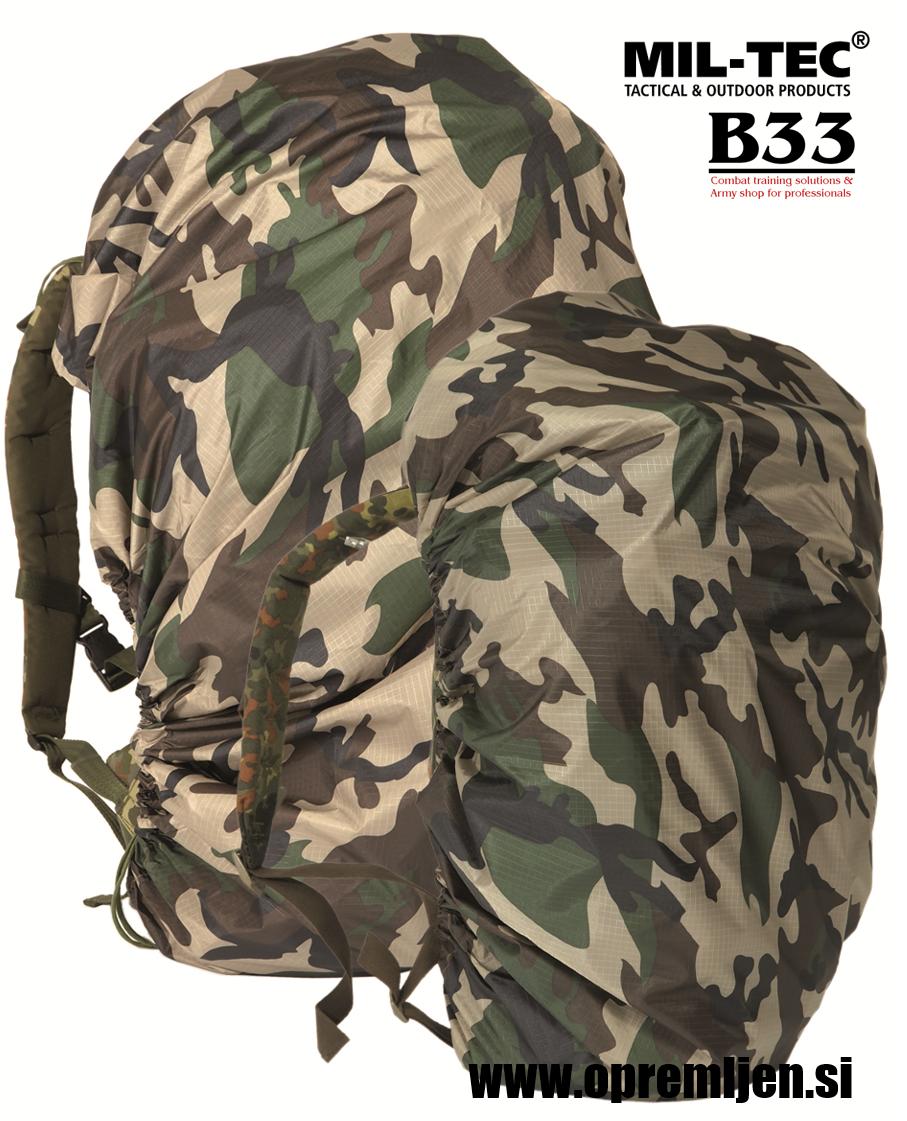 B33 army shop - zaščitna ponjava za nahrbtnike prostornine do 130 litrov