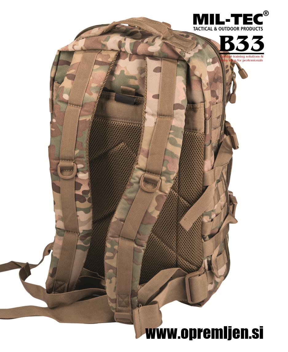 Vojaški nahrbnik US assault pack large multicamo MILTEC by B33 army shop at www.opremljen.si trgovina z vojaško opremo, vojaška trgovina