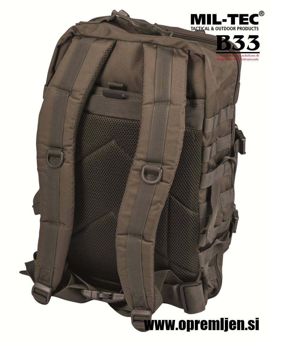 Vojaški nahrbnik US assault pack large MILTEC by B33 army shop at www.opremljen.si vojaška trgovina, trgovina z vojaško opremo