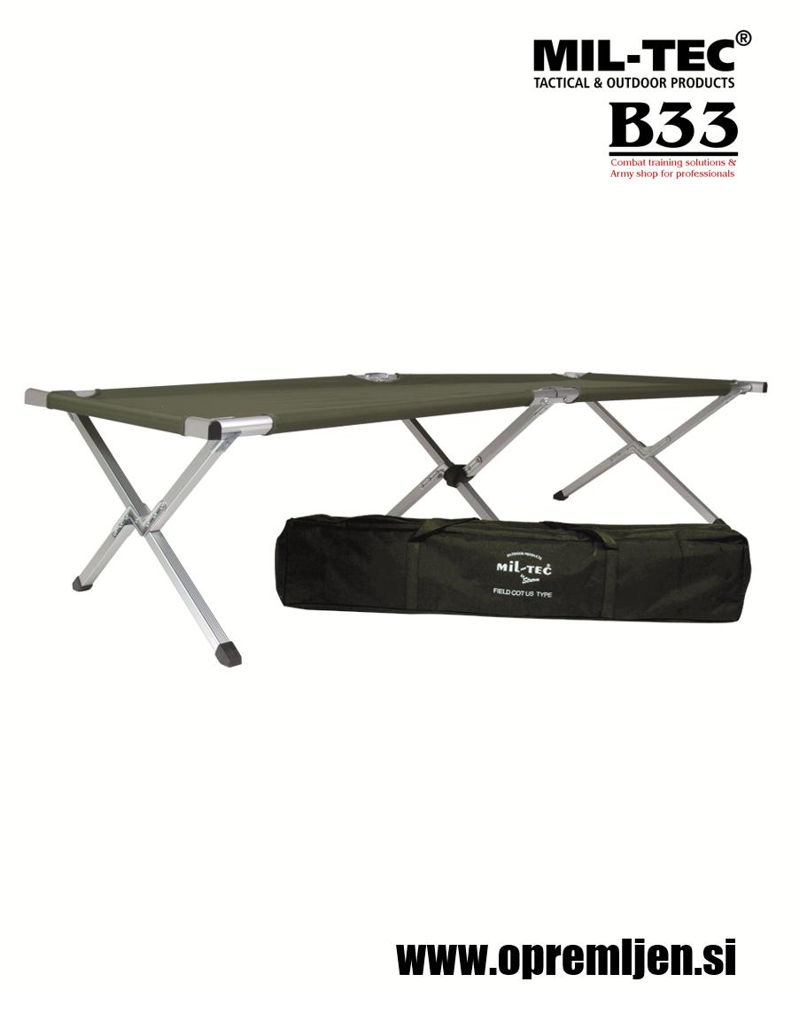 B33 army shop - vojaška zložljiva postelja by MILTEC, MIL-TEC, trgovina z vojaško opremo, vojaška trgovina