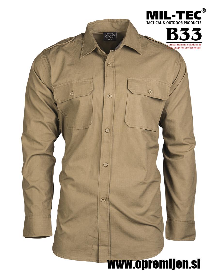 B33 army shop - vojaška srajca ripstop MILTEC, trgovina za vojaško opremo, vojaška trgovina